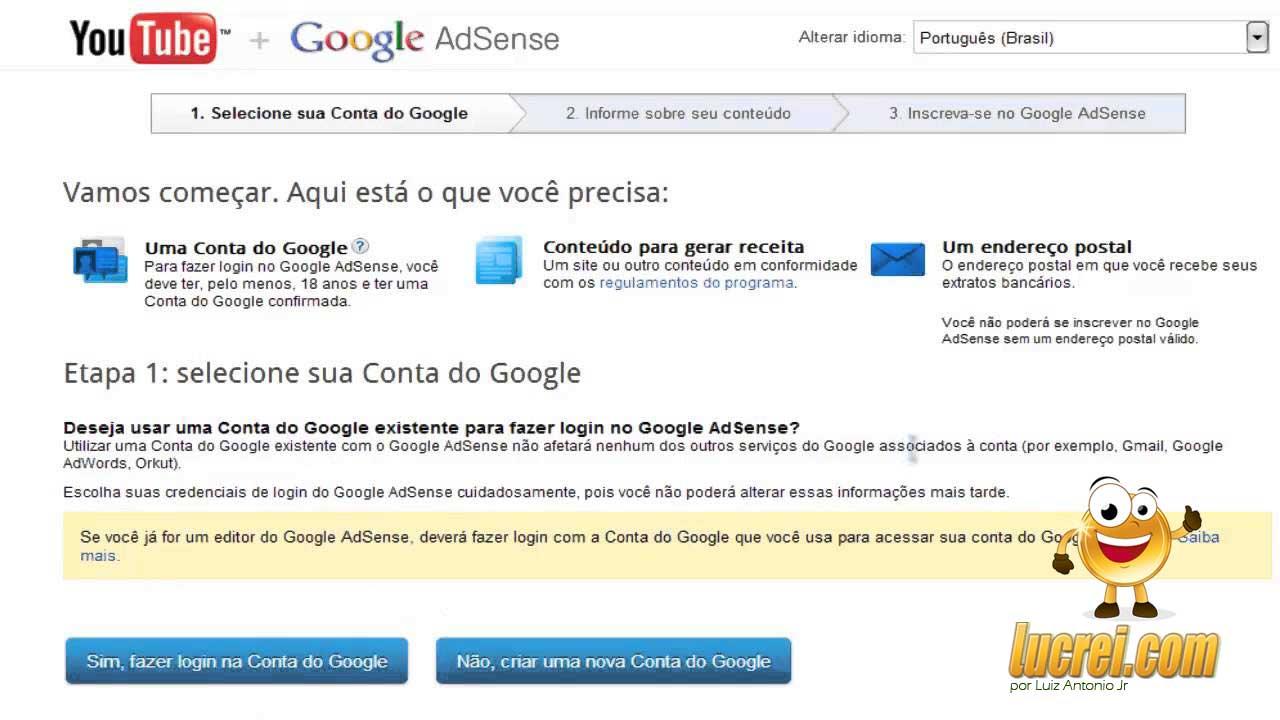 Monetização do Youtube com o Google adsense é seguro?